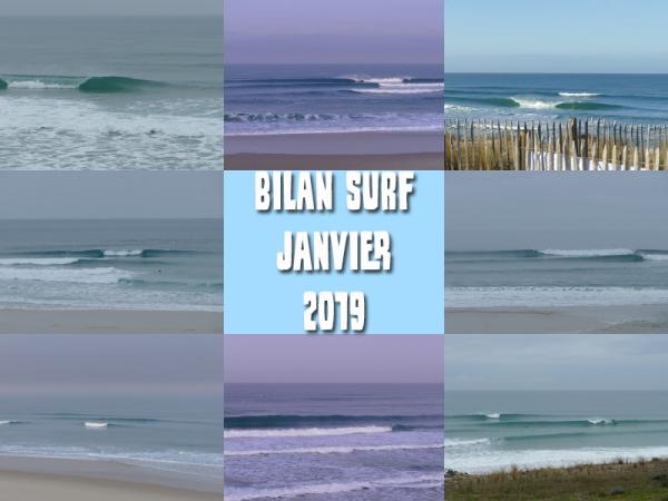 Bilan Surf Janvier 2019