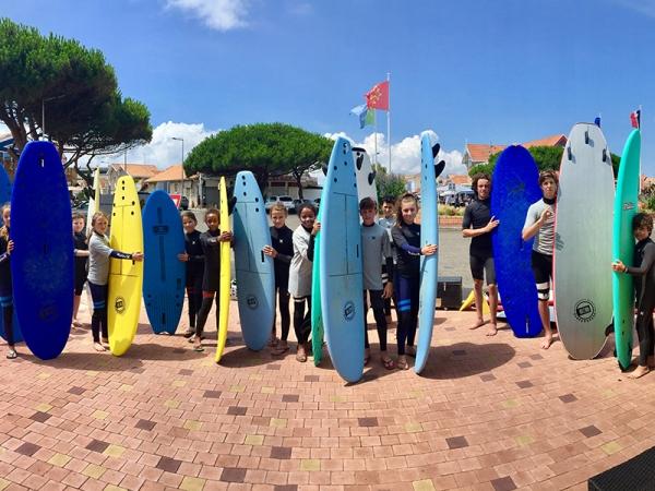 Ecole de surf Océan Expérience