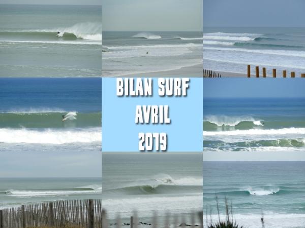Bilan Surf Avril 2019