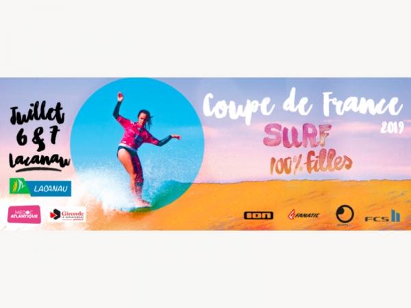 Coupe de France 100% Filles à Lacanau Océan - 2019