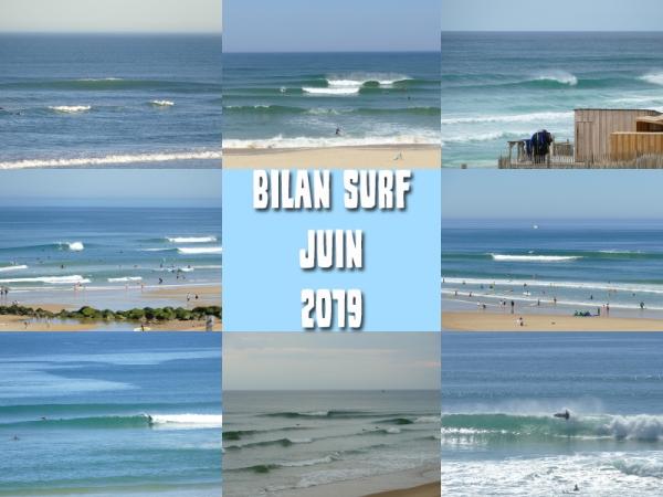 Bilan Surf Juin 2019