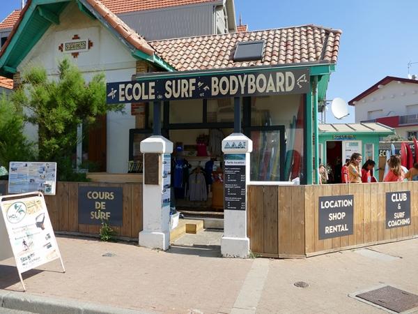 Ecole de Surf et bodyboard HCL
