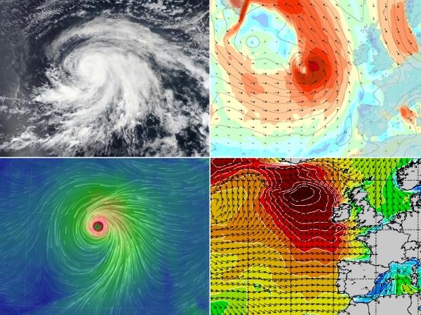 Ouragan Lorenzo - Swell du 04 et 05 octobre