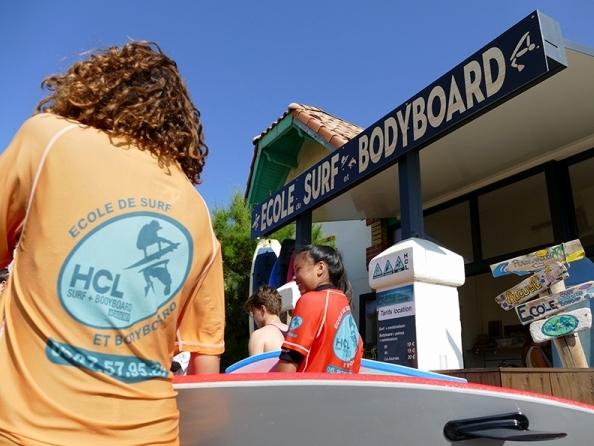 Ecole de Surf Lacanau - Surf School - HCL ECOLE DE SURF ET BODYBOARD