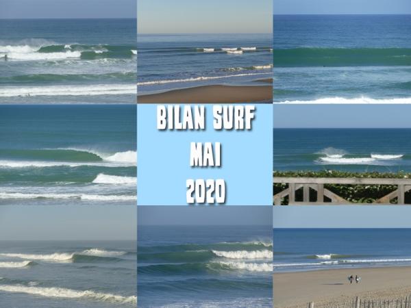 Bilan Surf Mai 2020
