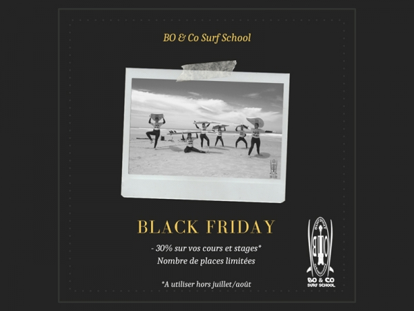 Black Friday avec Bo and Co