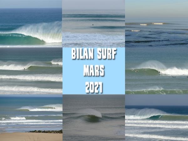 Bilan Surf Mars 2021