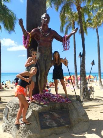 Manon, 14 ans, de retour d'Hawaii !! - avec le duke