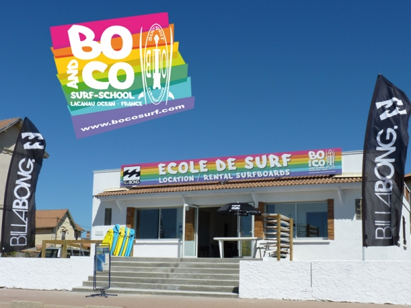 bo and co ecole de surf school lacanau