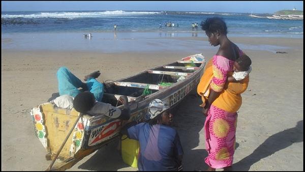 Hiver au Sénégal pour Aurélie Jonot - AMBIANCE