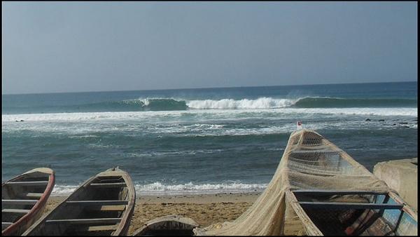 Hiver au Sénégal pour Aurélie Jonot - SURF