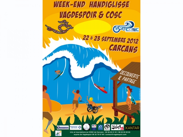 WEEK-END HANDIGLISSE VAGDESPOIR ET COSC
