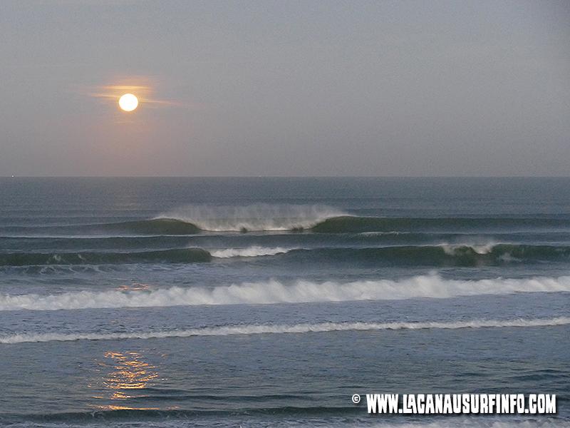 bilan météo surf janvier 2015