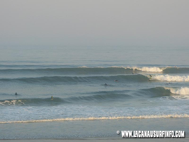 bilan météo surf juillet 2014