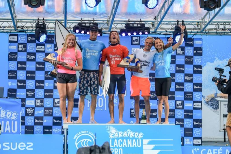 résultats Caraibos Lacanau Pro 2019