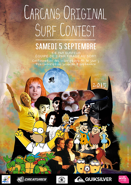 carcans original surf contest