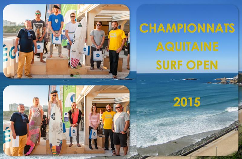 championnat aquitaine surf open 2015