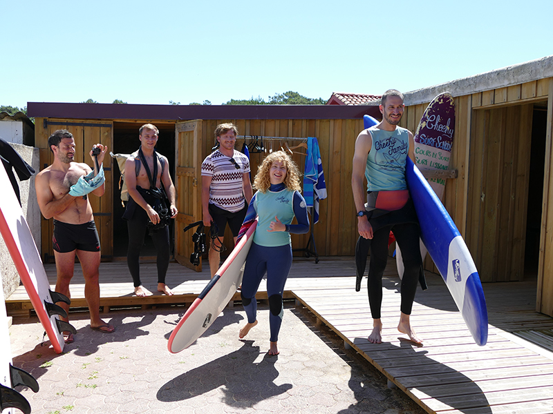 cheeky family surf school