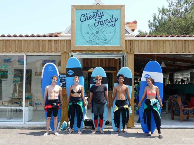 cheeky family surf school