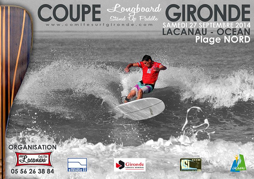 coupe longboard sup gironde 2014