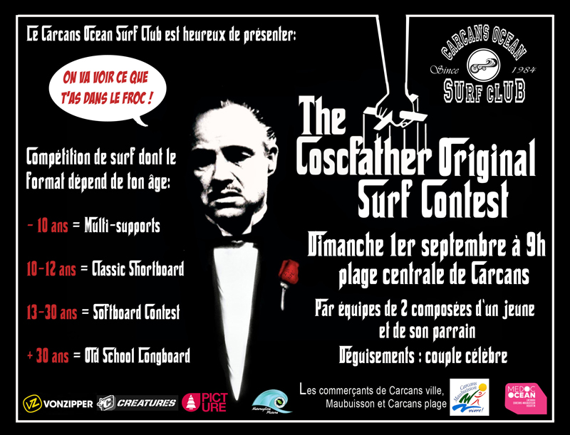 cosc father original surf contest carcans competition