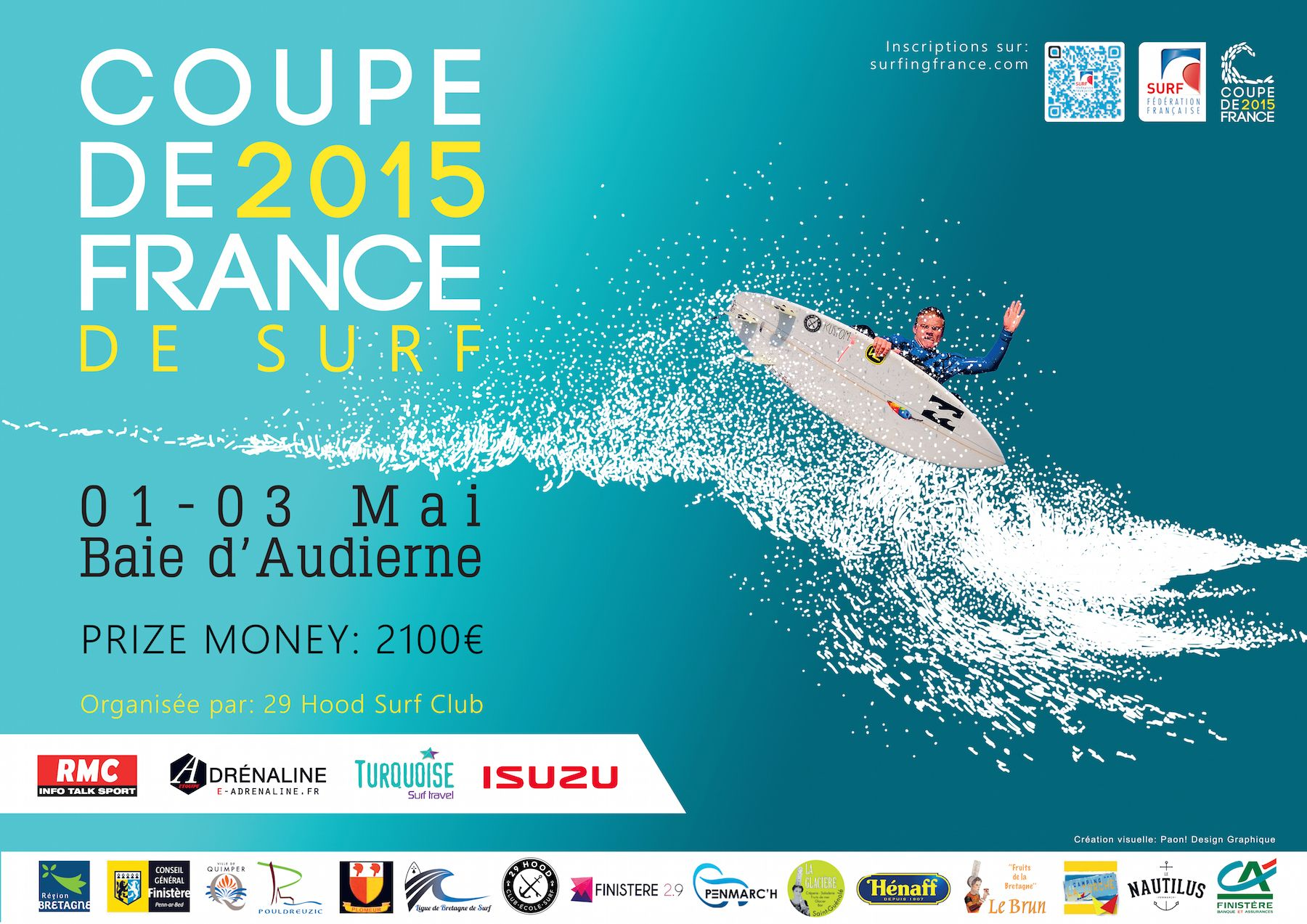 coupe de france surf 2015