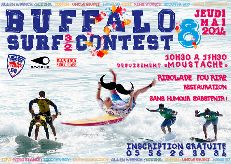 buffalo surf contest lacanau surf club