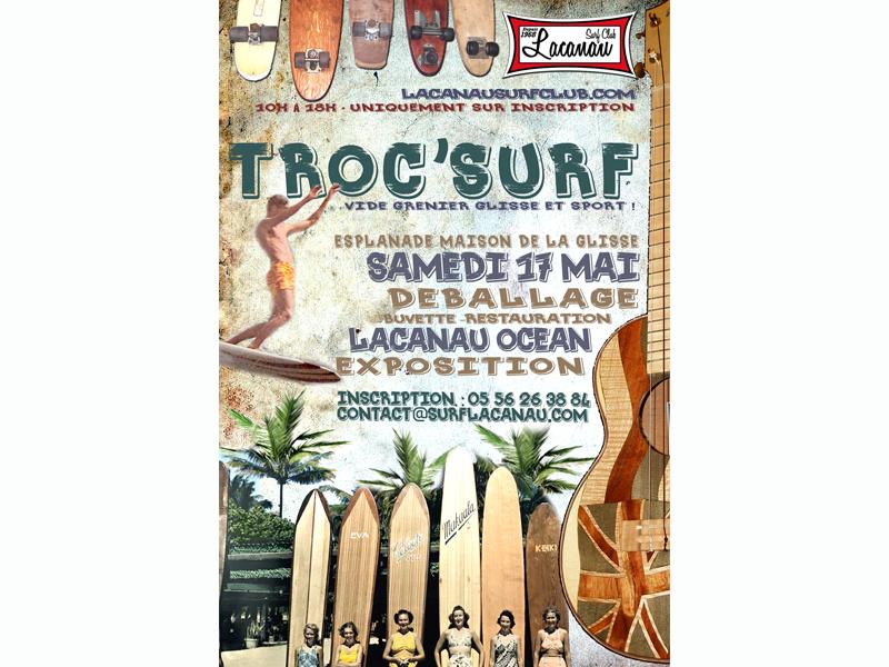 troc surf lacanau surf club