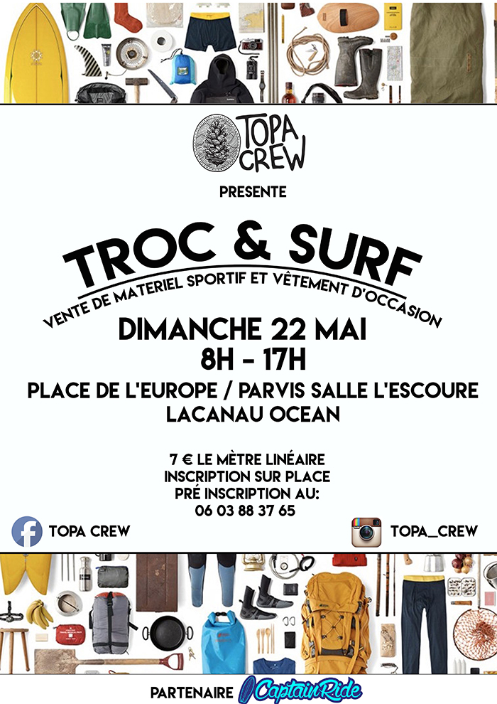 troc and surf topa crew 2016