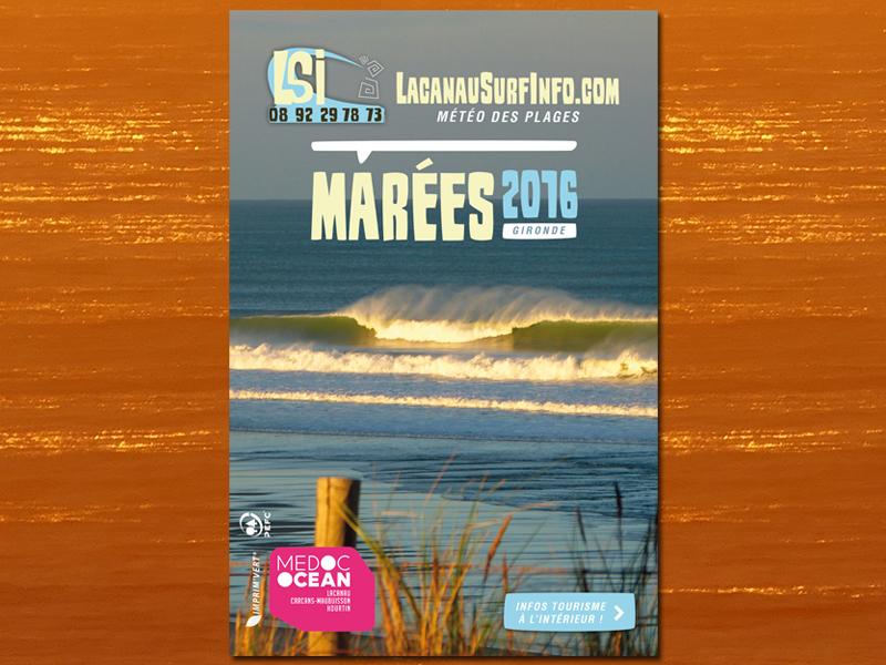 guide des marées lacanau surf info 2016