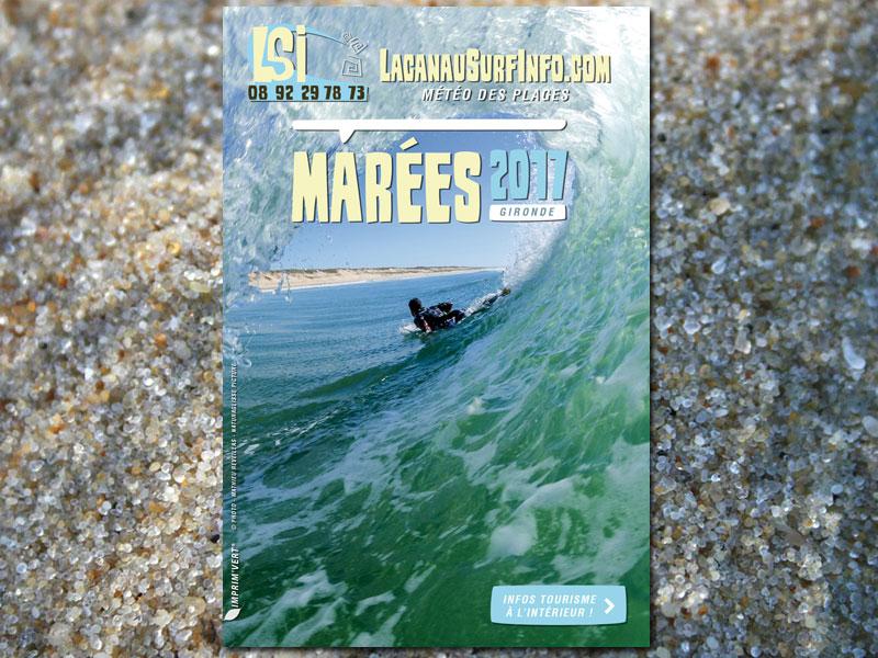 guide des marées lacanau surf info 2017