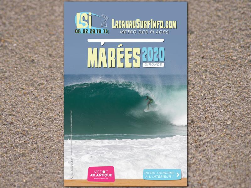 guide des marées lacanau surf info 2020