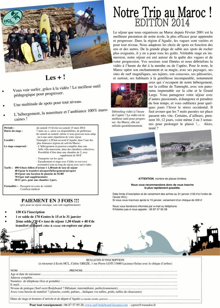 stage de surf au maroc hcl