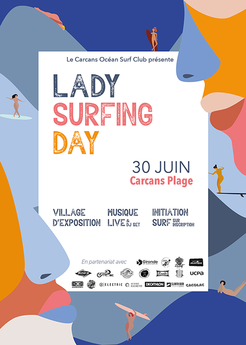 lady surfing day 2019