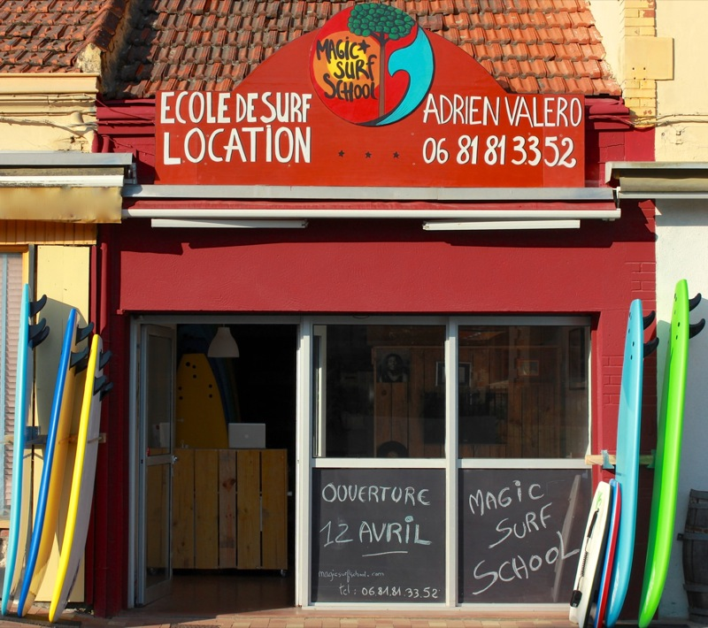 ecole de surf magic surf school