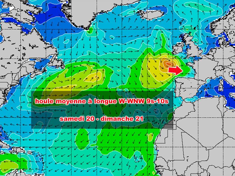 prévisions médoc océan lacanau pro
