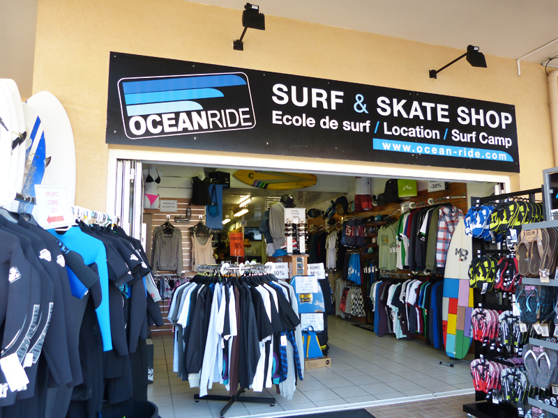 ocean ride surf skate shop lacanau