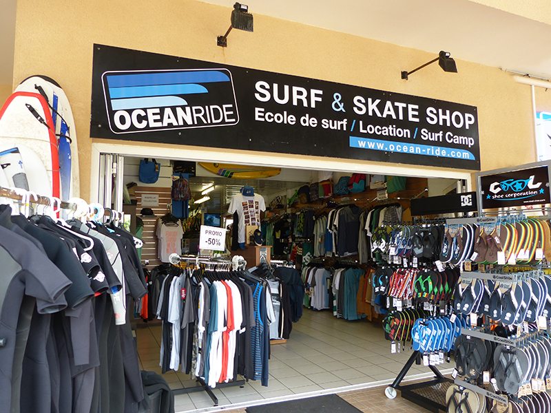 ocean ride surf skate shop lacanau