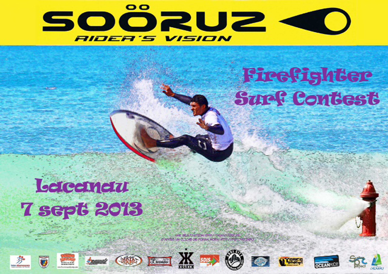 firefighter surf contest
