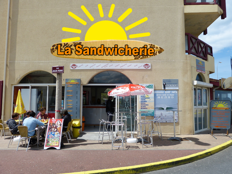 sandwicherie lacanau