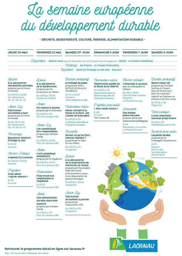 semaine européenne développement durable
