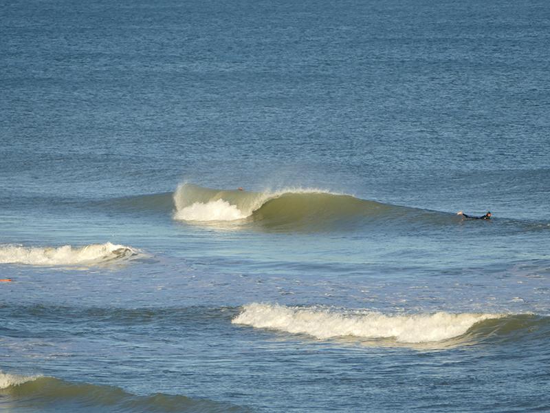houle longue lacanau océan