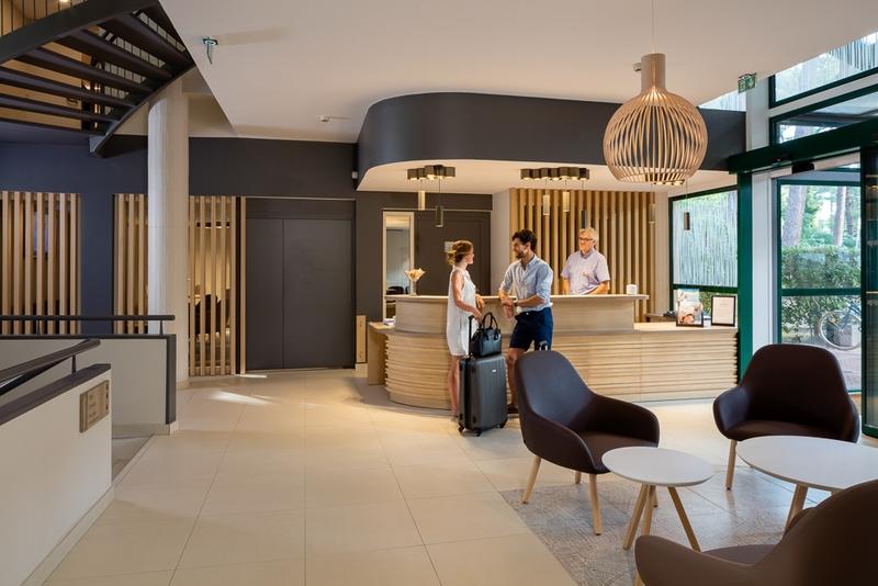 vital parc hôtel spa 4 étoiles lacanau